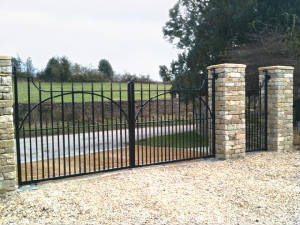 Traditional Wrought Iron Gates